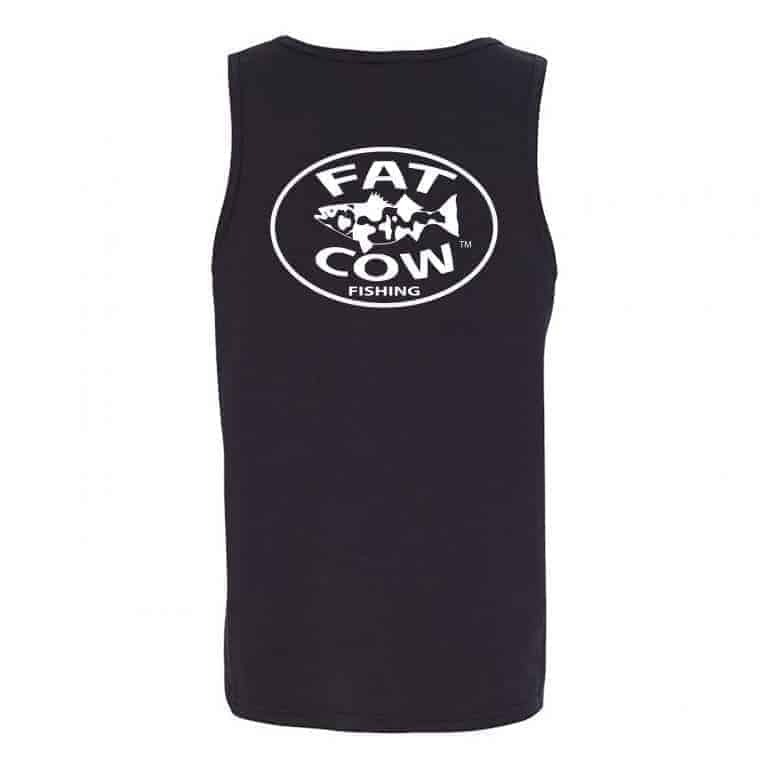 Fat Cow Fishing Tank Top Back