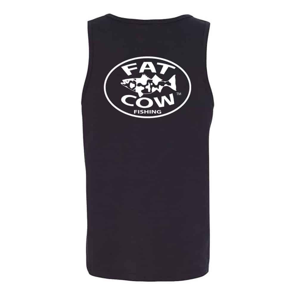 Fat Cow Fishing Tank Top Back
